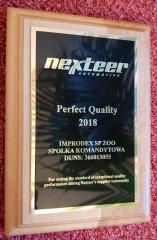 Nagroda Nexteer październik 2018